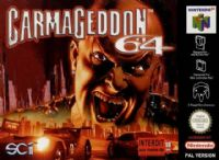 Nintendo 64 (N64): Carmageddon 64 - Boxed with Manual
